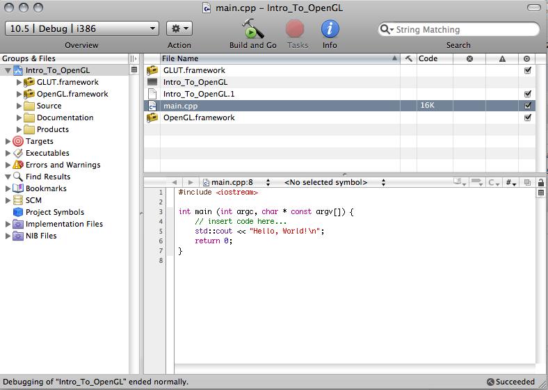 Beginning OpenGL on OS X | The Tech Junkies