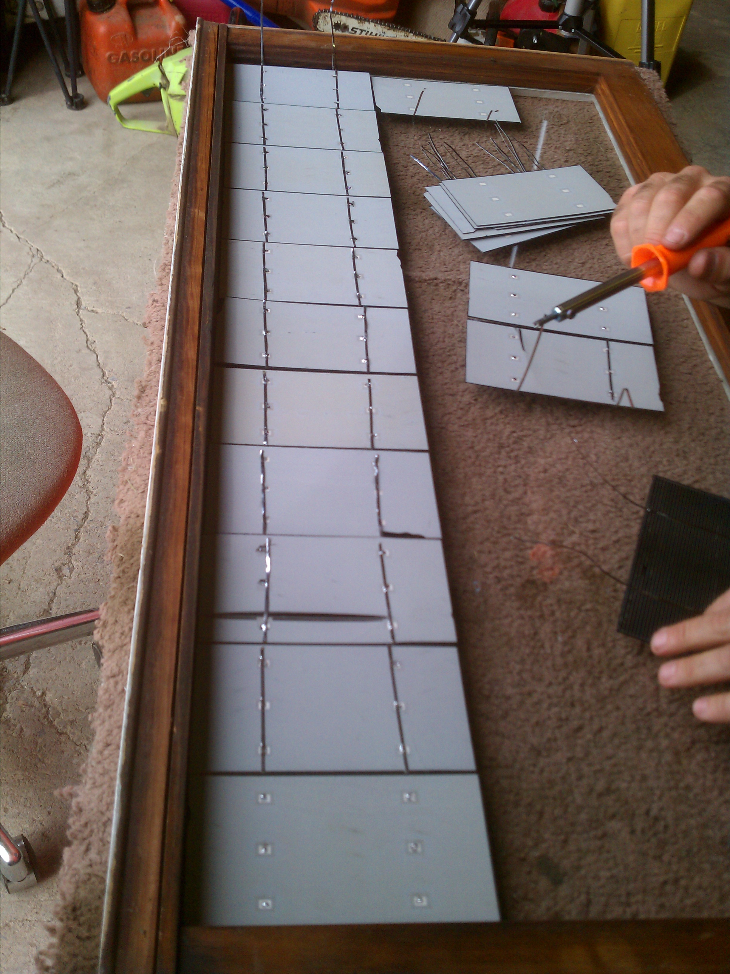 Hobby Electronics How To Make Home Made Solar Pannel