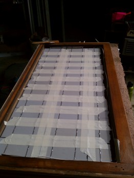 DIY Solar Panel Taped