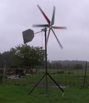 wind turbine working