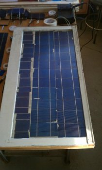 New Solar Panel Front - Ready for testing
